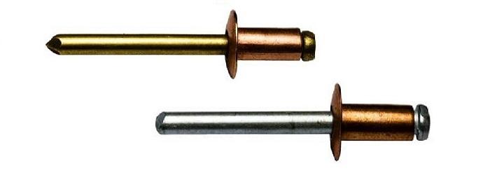 Kupfer & Bronze Blindnieten